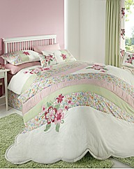Freya Embroidered Duvet Cover Set