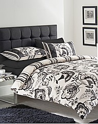 Lydia Reversable Duvet Cover Set