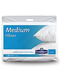 Egyptian Cotton Medium Support Pillows