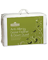 Anti Allergy Goose Feather Duvet 4.5 Tog