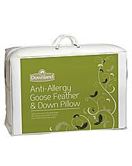 Luxury Anti Allergy Goose Feather Pillow