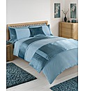 Pleats Duvet Cover Set