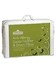 Luxury Anti Allergy Goose Feather Pillow