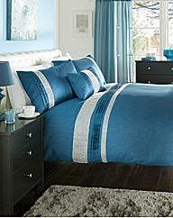 Kimberley Embellished Duvet Cover Set