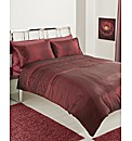 Sienna Embellished Duvet Cover Set