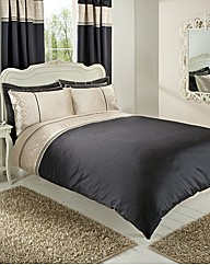 Geo Embellished Duvet Cover Set
