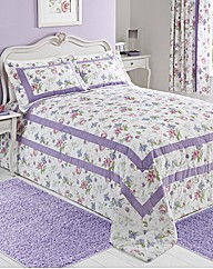 Virginia Quilted Throwover Single