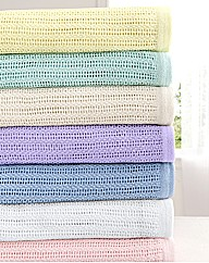 Cotton All Year Round Cel Blanket Double