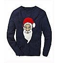 Label J Santa Crew Neck Jumper