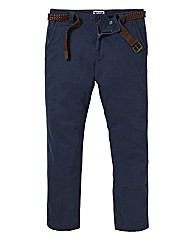 Label J Chino Trousers 33In Leg
