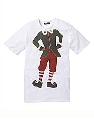 Label J Christmas Elf Tshirt Long