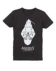 Assassins Creed Skull Print Tshirt