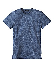 Label J Paisley Tshirt Long