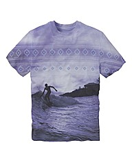 Label J Graphic Surf Tshirt Long
