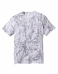 Label J Splatter Print Tshirt Long