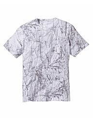 Label J Splatter Print Tshirt Long