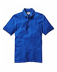 Label J Oil Wash Polo Regular