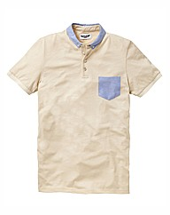 Label J Button Polo Long