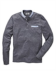 Label J Long Sleeve Polo reg