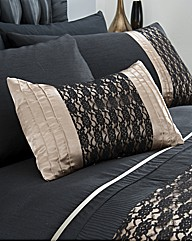 Midnight Boudoir Filled Cushion