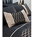 Midnight Boudoir Filled Cushion