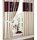 Border Patchwork Curtains & Tie Backs
