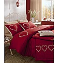 Decorative Hearts Duvet Cover Set