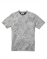 Label J All Over Print Tshirt Long