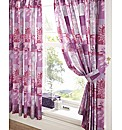 Opulence Lined Curtains & Tie Backs