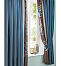 Florence Lined Curtains & Tie Backs