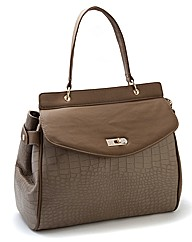 Malissa J Taupe Twilight Bag