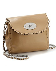 Malissa J Taupe Brazil Bag