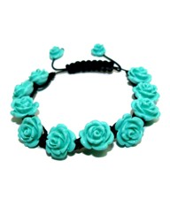Funky Jewellery Rose Resin Bracelet