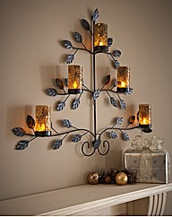 Mosaic LED Tree Wall Art