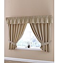 Plain Dye Panama Kitchen Curtains