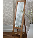 Serena Wood Cheval Mirror