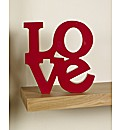 Love Letter Wall Plaque