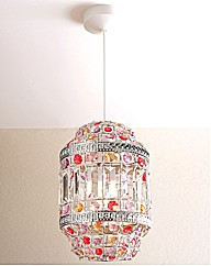 Crystalline Pendant Light Ornament