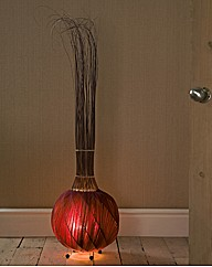 Handcrafted Garlic Lamp