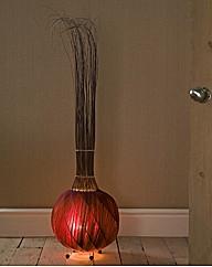 Handcrafted Garlic Lamp