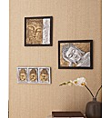 3D Buddha Wall Art Triple Pack