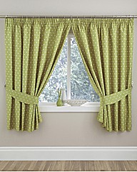 Thermal Polka Dot Kitchen Curtains