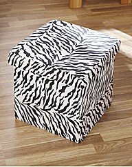 Animal Print Storage Cube