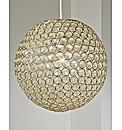 Large Acrylic Ball Non-Electric Pendant