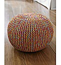 Hand Knitted Pouffes