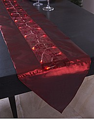 LED Sparkling Table Runner