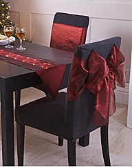Pack of 2 Chair Bows