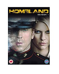 Homeland Season 1 DVD