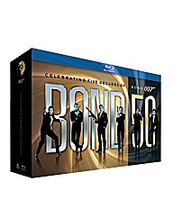 James Bond Complete Boxset Blu-Ray