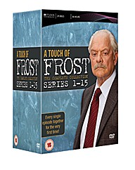 A Touch Of Frost Series 1 to 15 DVD
